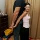 Vene hiiglane ja ta naine