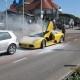 Lamborghini põlemas
