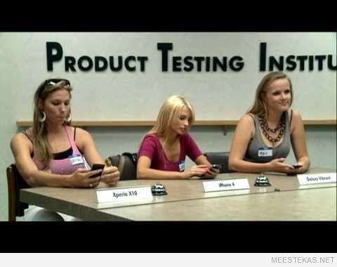 Kuidas telefone testitakse.