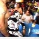 La Parka Punches Fan