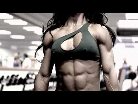Fitness modell Andreia Brazier (video)