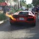 """Vahepeal Miamis.. Autoparkija teeb Lamborghini Aventadoriga """"kiire sõidu"""" mis lõpeb leegiga"""