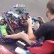 Täiskasvanute mänguasi: kart ette paigaldatud mootoriga