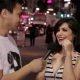 Tüüp intervjueerib suvalisi tüdrukuid tänavalt nende esimese suuseksi kohta