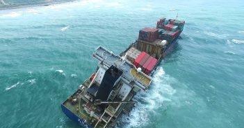 Pooldunud kaubalaev Taiwani rannikul