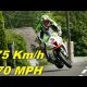 Isle of Man TT võistlejal James Hillieril läks 5-käiguga kiirusel 170km/h ratas peaaegu käest ära – suutis kinni hoida ja edasi sõita