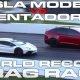Tesla Model X P100D ja Model S P100D pannakse joonele Lamborghini Aventador SV vastu