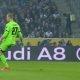 Väravavaht Robin Zenter ajab palli penalti märgiga segi