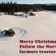 Farmer Norrast soovib kõigile üle maailma ilusaid pühi!