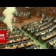 Raske tööpäev? Kosovo parlamendis süütas riigikogulane tossupommi