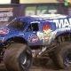 Maailma esimene edaspidi saldo Monster Truckiga