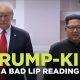 """""""A Bad Lip Reading"""" versioon Trumpi ja Kimi kohtumisest"""