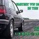 1233 hobujõuga Volkswagen Golf sleeper sõidab veerandmiili ajaks 8.76 sekundit ja saavutab kiiruse 267km/h