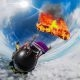 GoPro auhinnad: langevarjuhüpe põleva langevarjuga