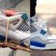 Tossufriikidele: 1989 Military Blue Jordan 4 restaureerimine