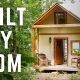 """Tubli üksikema ehitas ise omale """"tillukese maja"""""""