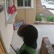 Müügimehed, olge ettevaatlikud! Koer hüppab välisuksel klaasi eest ära, kui naisterahvas tuli flaierit ukse vahele pistma