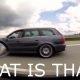 Liiga enesekindel Porsche juht satub 600hj Audi sleeperi kõrvale