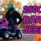 Georgia Tehnikaülikooli tudengid panevad Barbie džiibile 250cc mootori