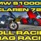 Kes võidab? BMW S1000RR (199hj) vs. McLaren 720S V8 (710hj)