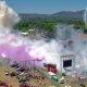 Suurim burnout ajaloos – korraga põletavad kummi 100+ autot